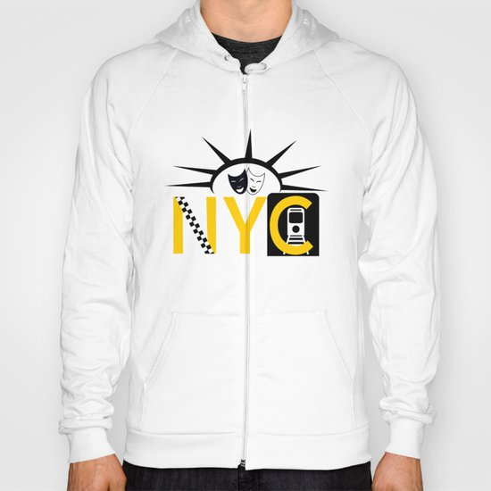 NYC Icon Collage Hoody