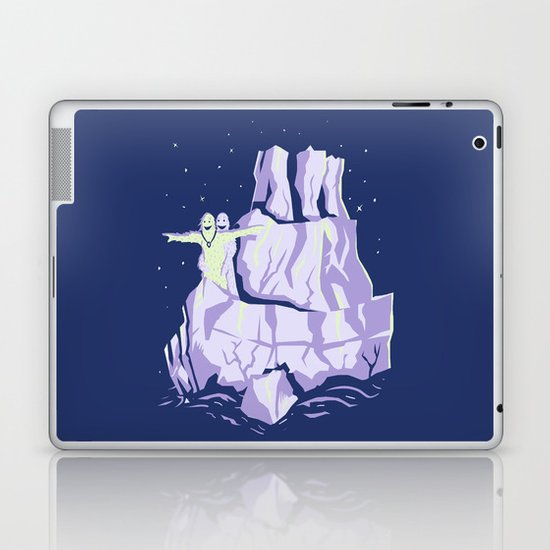 yeti titanic  Laptop & iPad Skin