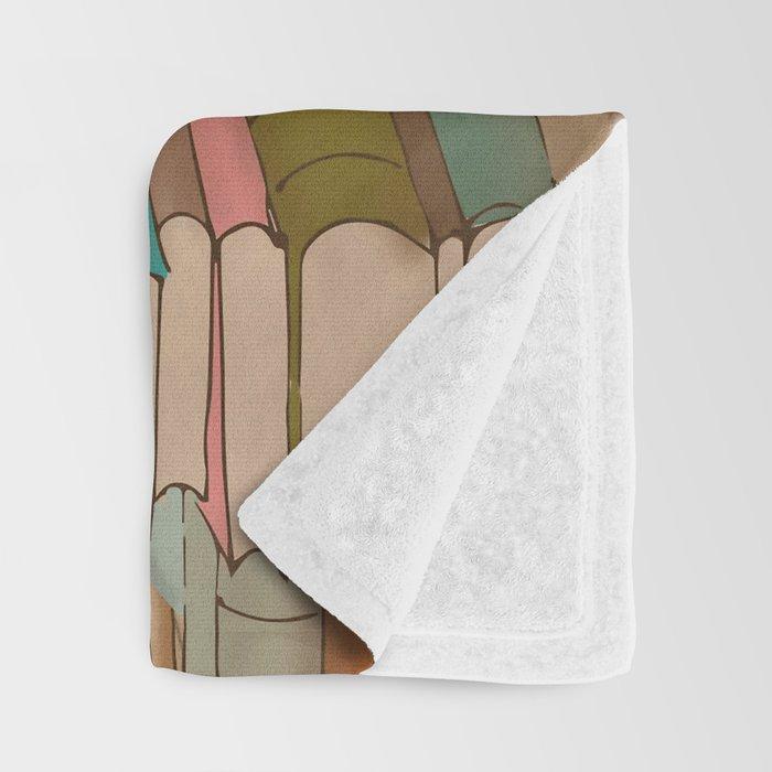 I Love Books Throw Blanket