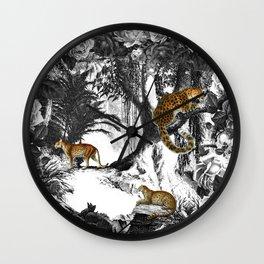 Leopard & Landscape Wall Clock