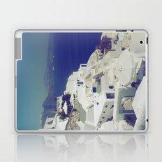 Santorini White & Blue Laptop & iPad Skin
