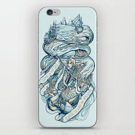 Life & Love at Sea iPhone Skin