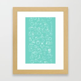 Dust Bunnies Framed Art Print