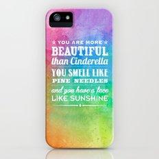 Sunshine Face iPhone (5, 5s) Slim Case