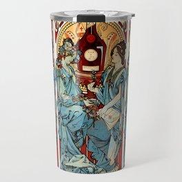 "Alphonse Mucha ""Bénédictine"" Travel Mug"