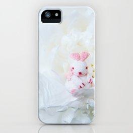 The Journeying Rabbit IV iPhone Case
