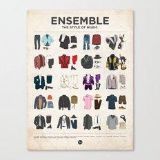 Ensemble Canvas Print