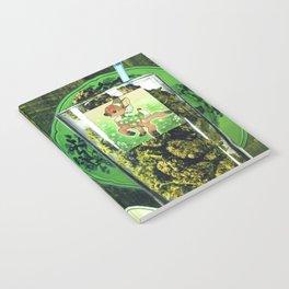 J010: green fairy Notebook