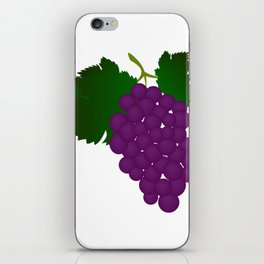 grapes iPhone Skin