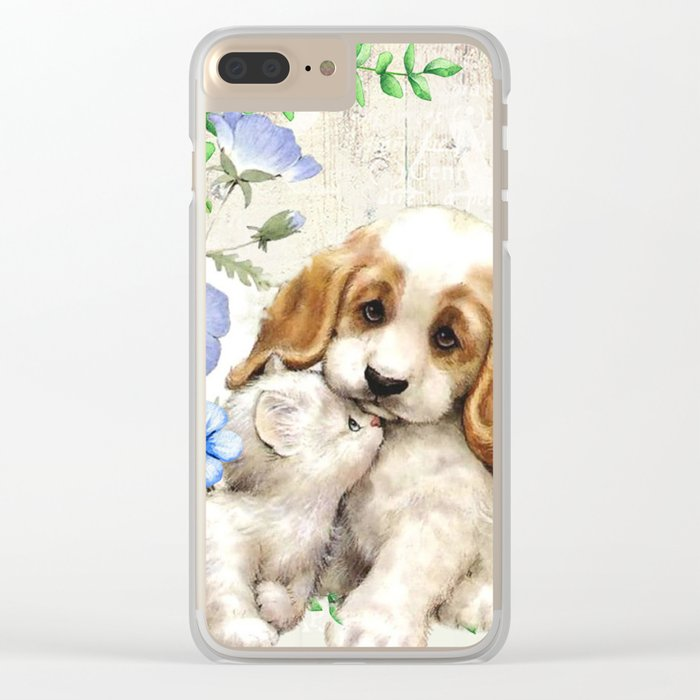 Sweet animals #7 Clear iPhone Case