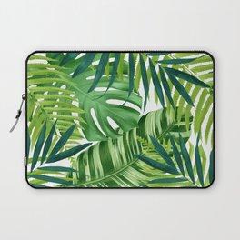 Tropical leaves III Laptop Sleeve