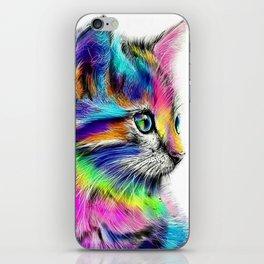 CAT--FluO iPhone Skin