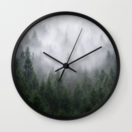 Home Is A Feeling Wall Clock