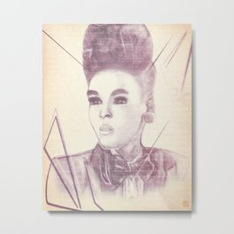 Shattering The Mold - Janelle Monae Metal Print