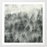 trees Art Prints featuring Everyday by Tordis Kayma