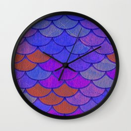 Multicolor Scales Wall Clock