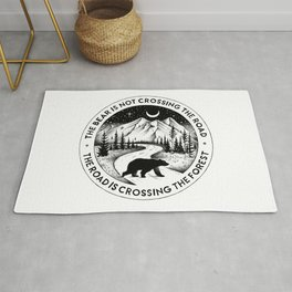 CROSSING THE FOREST Rug