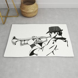 Jazz Man Rug