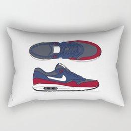 Air max essential 1 blue/red #2 Rectangular Pillow