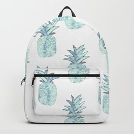 Turquoise Pineapple Backpack