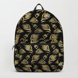 Turkish tulip - Ottoman tile pattern 3 Backpack