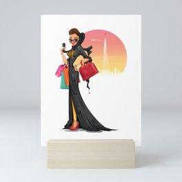 Fashionista Mini Art Print