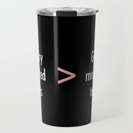 Texts Travel Mug