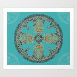 Persian design Art Print