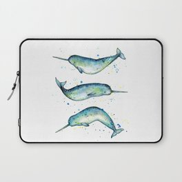 Narwhal Study Laptop Sleeve
