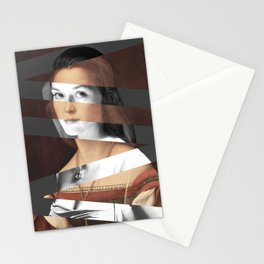 Raphael's Portrait of Woman & Meryl Streep Stationery Cards