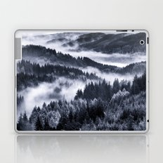 Misty Forest Mountains Laptop & iPad Skin