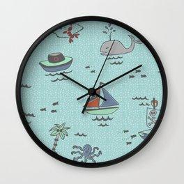 Yo HO HO Wall Clock