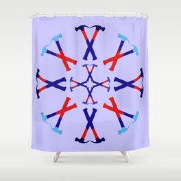 Hammers Design version 1 Shower Curtain