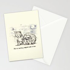 The Owl And The Pussycat Went to Sea Stationery Cards