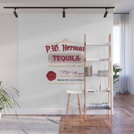 PW Herman Tequila Wall Mural