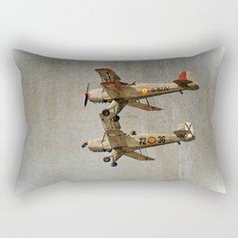 Old Buckers Rectangular Pillow