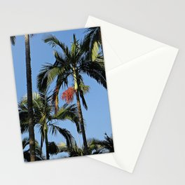 Palm in florest Stationery Cards