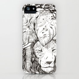 In The Wild iPhone Case