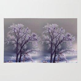 Frosty Scene - Inverted Art Series Rug