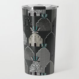 Art Deco in grey Travel Mug