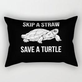 Turtle Animal Welfare Rectangular Pillow