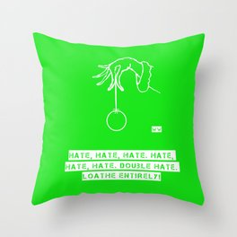 The GRINCH 2 Throw Pillow