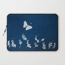 Cyano-butterfly Laptop Sleeve
