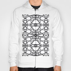 fancy grid Hoody
