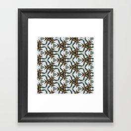 Desert Christmas Framed Art Print