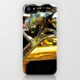FLAMES AND CARBS iPhone Case