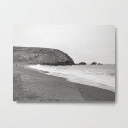 BEACH III (B+W) Metal Print