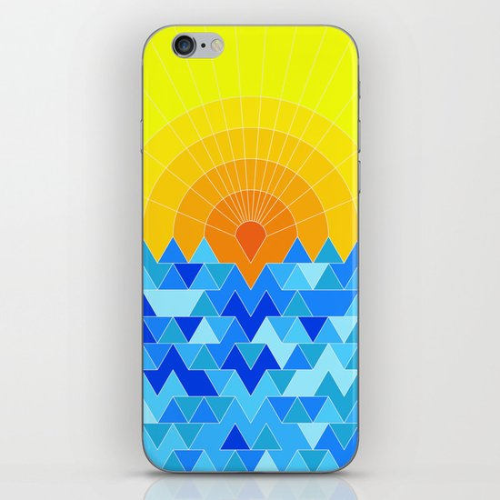Sun & Sea iPhone & iPod Skin