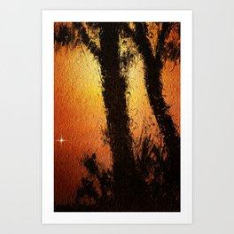 Solstice. Art Print