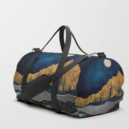 Midnight Desert Moon Duffle Bag